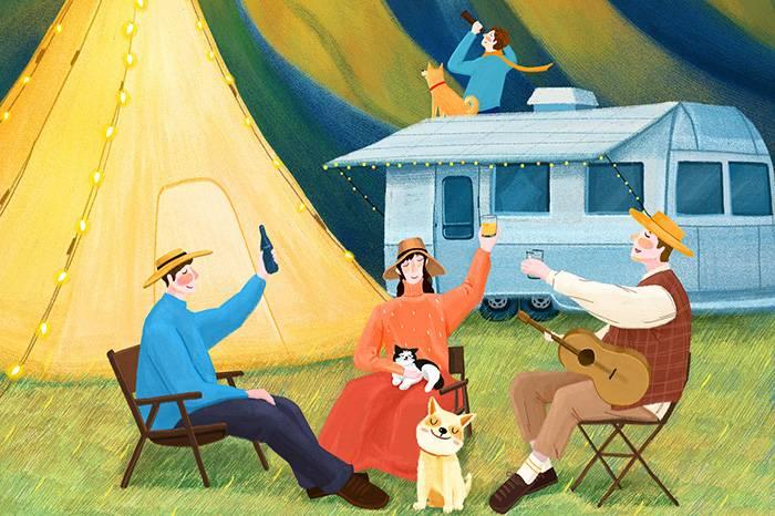 TERRI天空下的周末终极畅玩攻略:露营 野餐 音乐 风格店铺体验