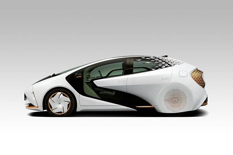 浓郁的未来主义科幻气质,TOYOTA亮相LQ概念车