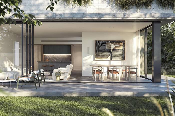 Premier Place:一栋充满现代主义简约优雅风的悉尼公寓