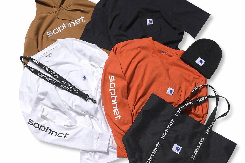东京旗舰店20周年企划第一弹,SOPHNET. x CARHARTT WIP联乘系列