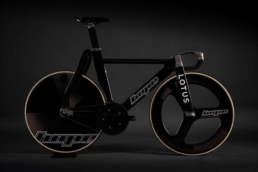 阔别25年,Lotus联合Hope Tech打造顶级赛道自行车