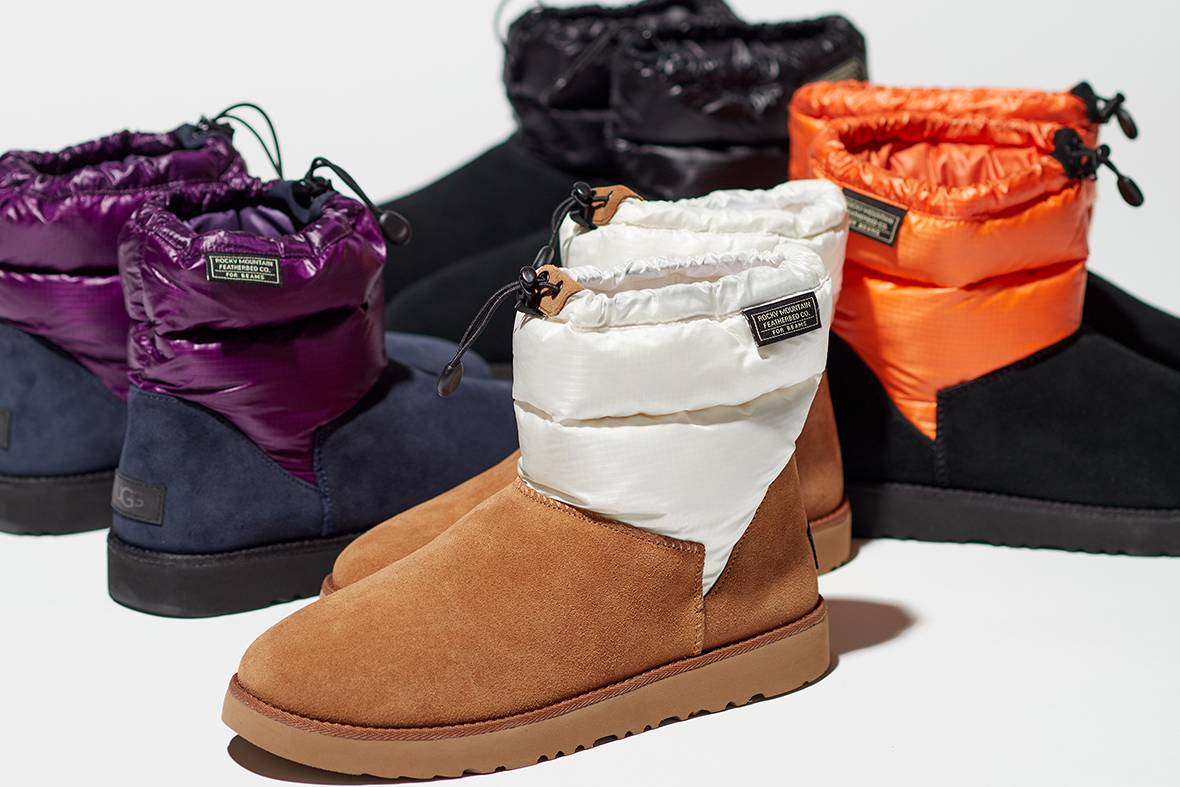 UGG® x Rocky Mountain Featherbed x BEAMS,发布三方联名羽绒靴
