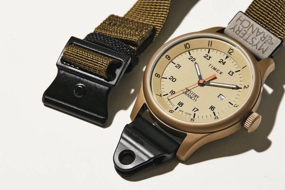时髦军旅风格,TIMEX x MYSTERY RANCH限定腕表
