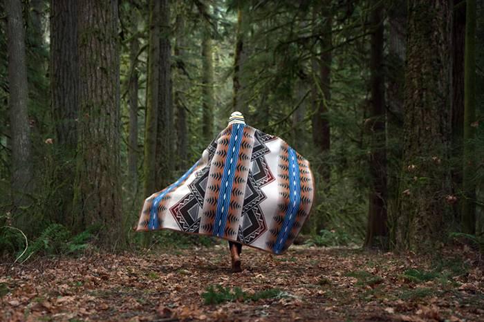 露营好物 | 秋冬Glamping你需要这样一条经典又实用的毛毯