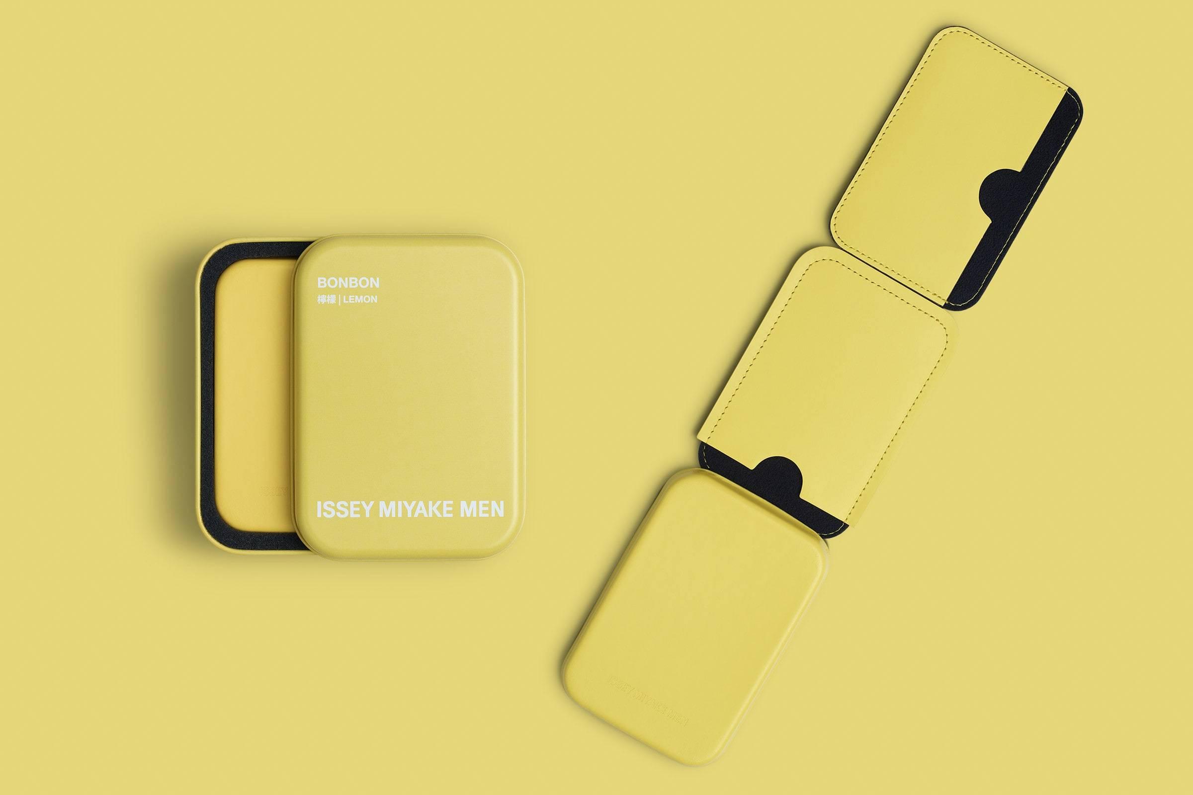 "BONBON by ISSEY MIYAKE MEN:时髦的""糖果""盒子"