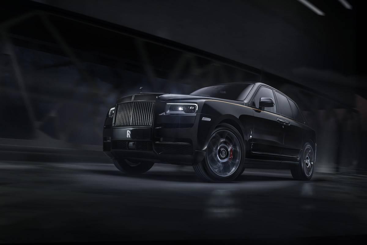 """劳斯莱斯放大招,推出史上""""最暗黑""""的Black Badge车款"""