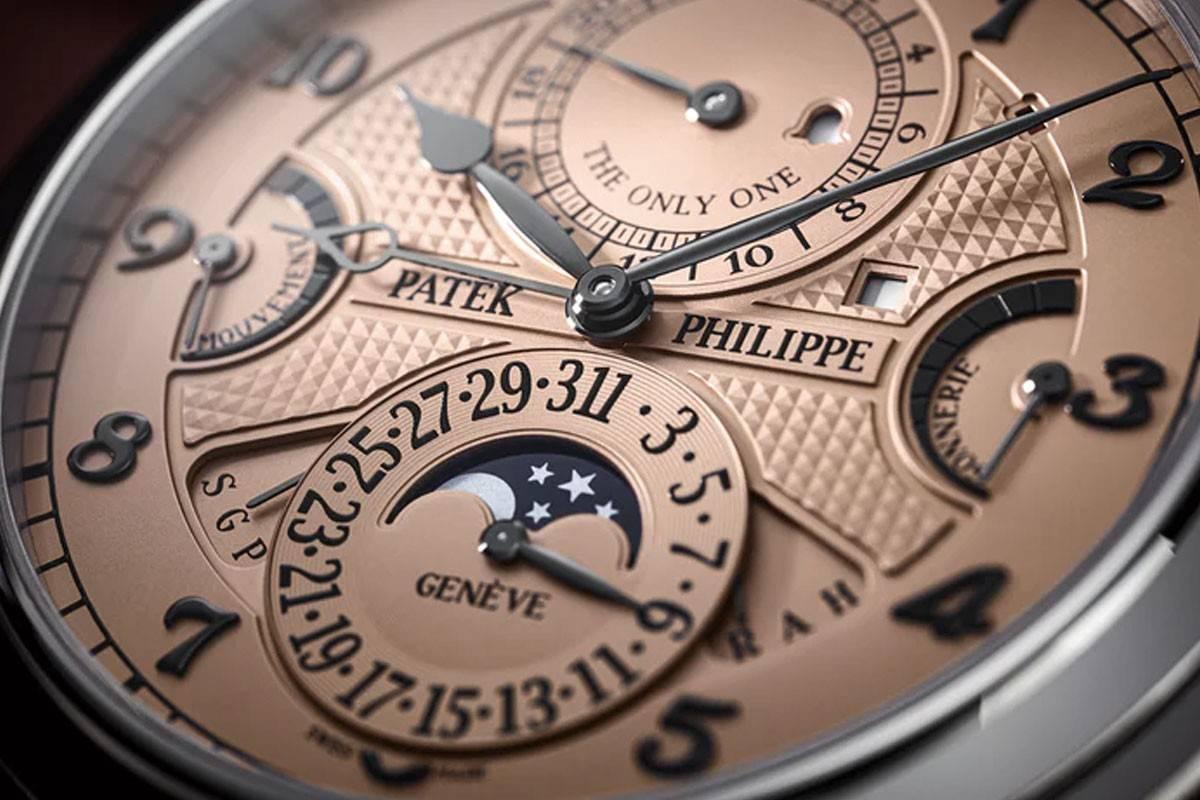 价值3100万美元的世界最昂贵腕表:百达翡丽大师弦音6300A-010