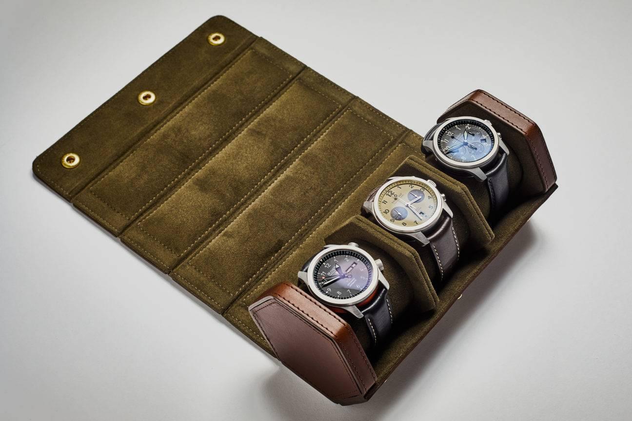Bennett Winch Watch Roll:存放珍贵时计的完美解决方案