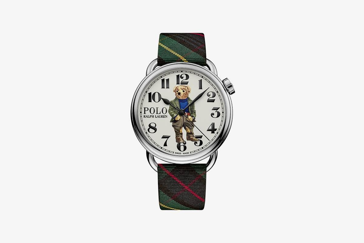 可能是最有腔调的熊,Ralph Lauren推出全新Polo Bear系列腕表
