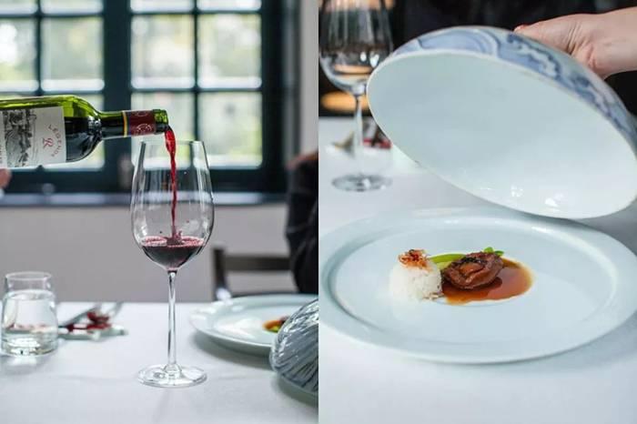 水煮牛肉配红酒,魔都第一家米其林川菜值得去吃吗?