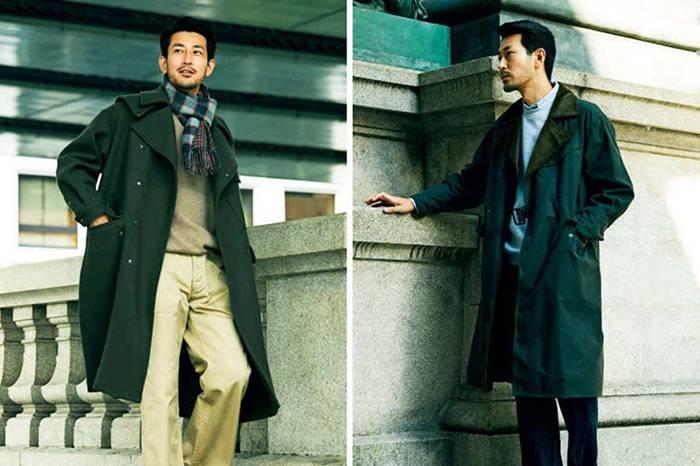 《MEN'S CLUB》12月号节选 | 男士长款外套的秋冬穿搭法则