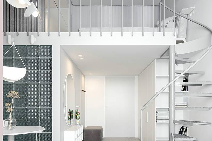 城市公寓小户型设计 | 25㎡的loft是最理想的居所