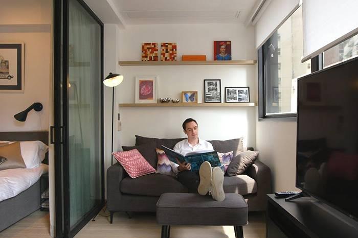 老房改造 | 香港城中心的小户型公寓升级智能环保小家