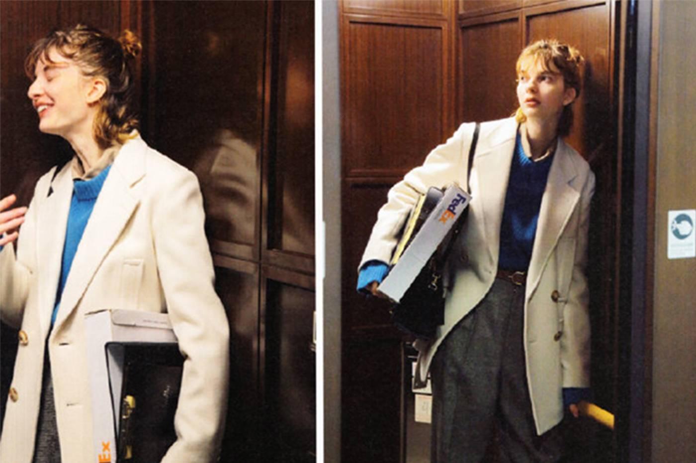 《Cluel》12月刊 | 绅士女孩的秋冬外套穿搭合集01