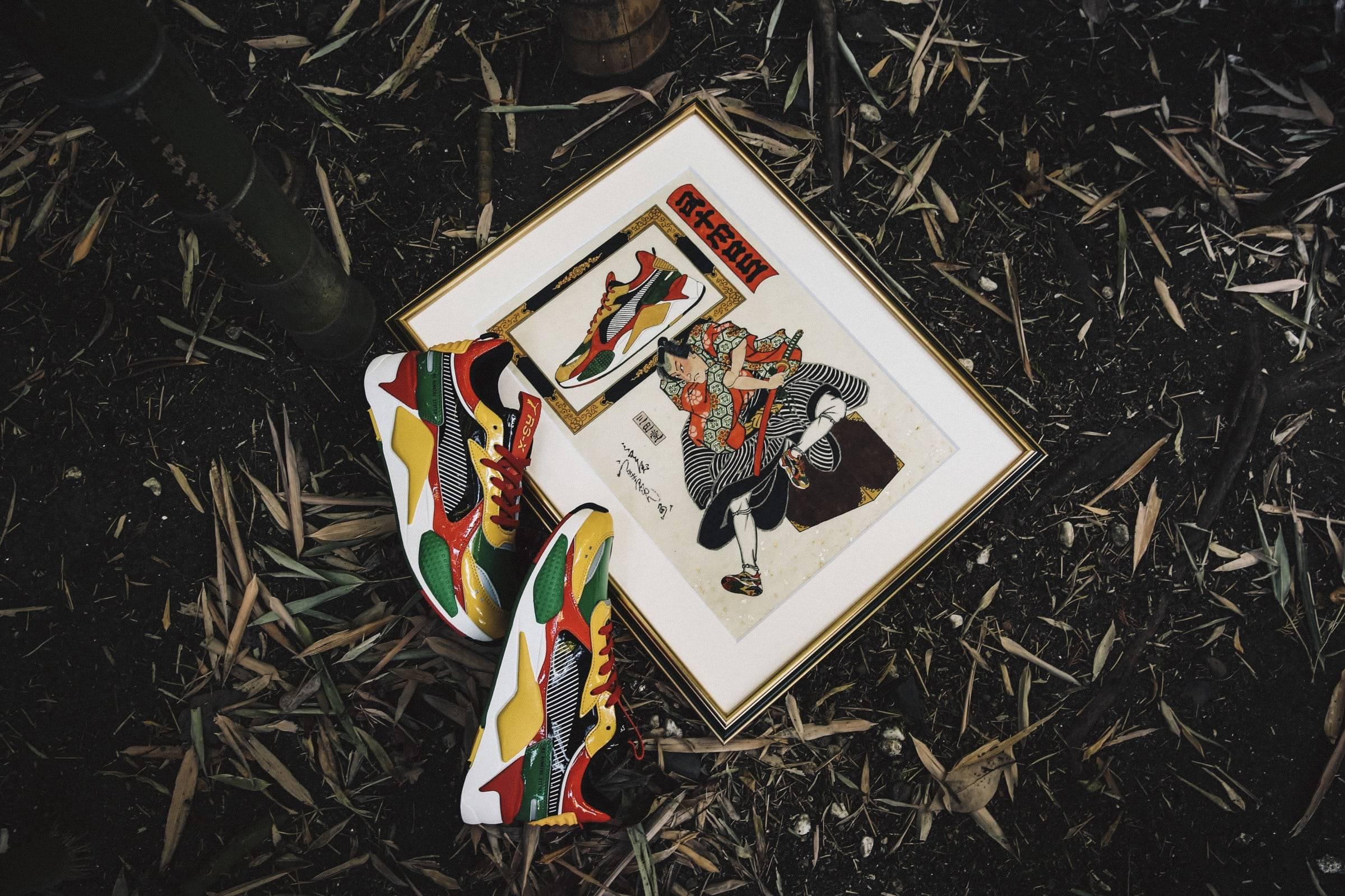 以传统歌舞伎主题为核心,atmos x PUMA亮相合作款球鞋