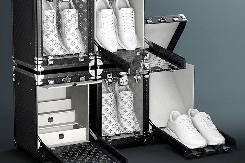 Louis Vuitton Sneaker Box:用时髦且奢华的方式,存放爱鞋