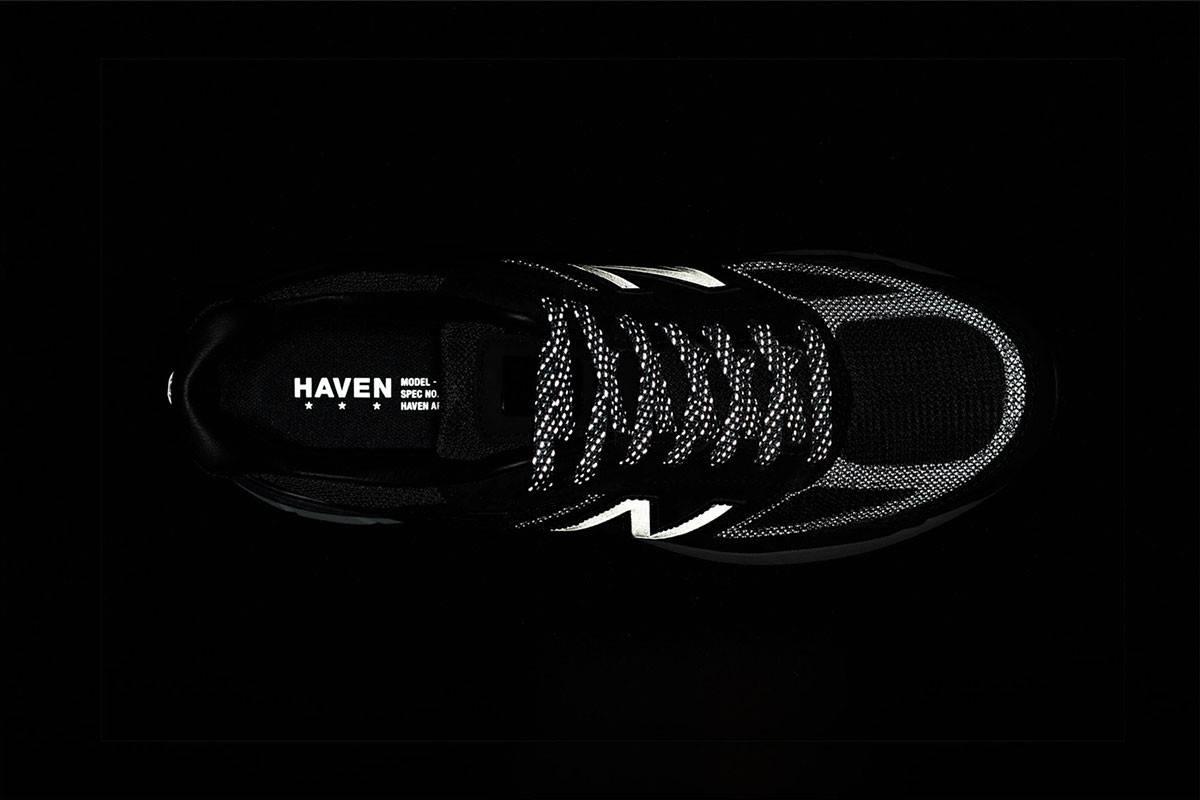以深色诠释豪华质感,HAVEN x New Balance联名款990v5