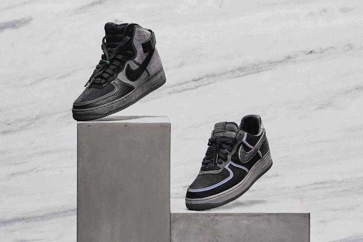 高规格豪华之作,A Ma Maniere x Nike发布超限量Air Force 1