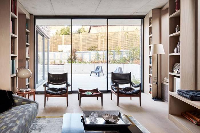 伦敦北部的这座极简风格建筑,会是你心中的梦想新家吗?
