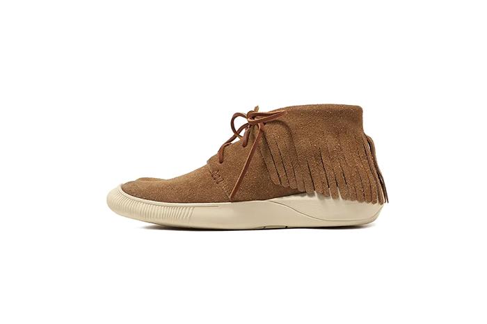 Visvim发布2019秋冬系列最新天然植物皮革鞋靴