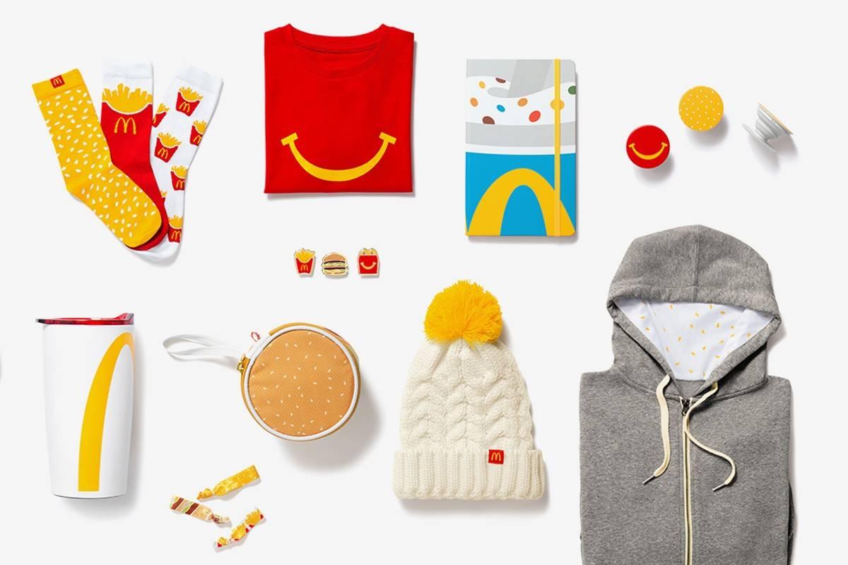 McDonald's发布首波官方出品服饰阵容