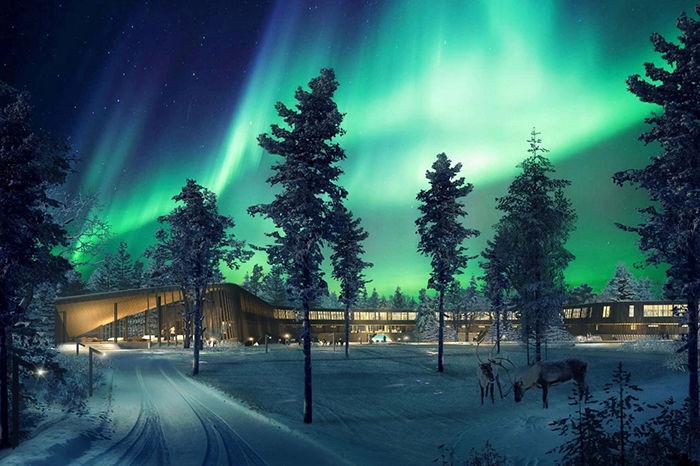 这个冬天我想请你玩一次免费的北欧极光之旅!