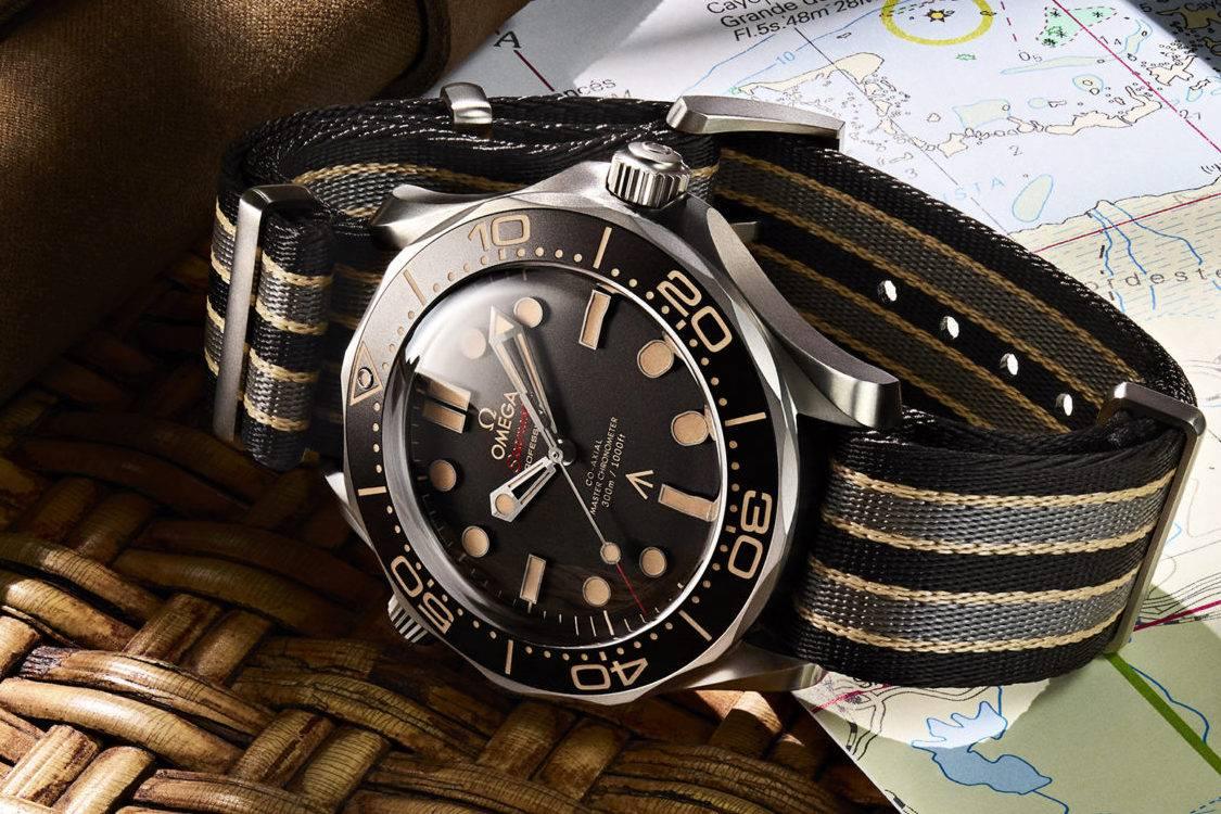 彰显007生活格调的经典之作:No Time To Die Omega Seamaster