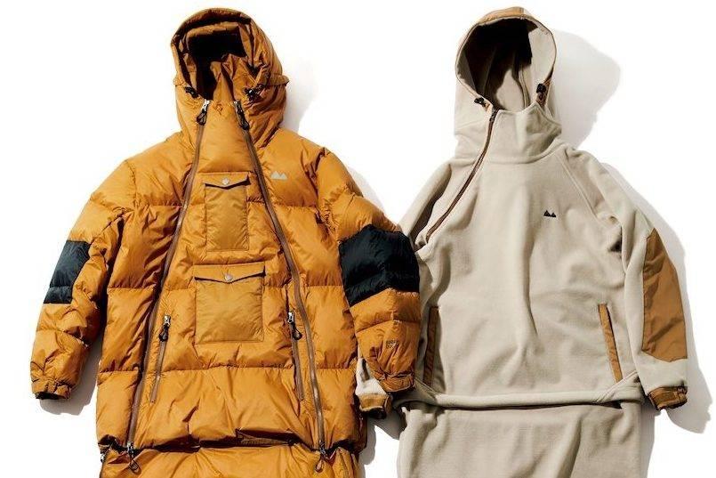 """结合""""服装""""与""""寝袋""""两大概念,grn outdoor推出史无前例一体式夹克"""