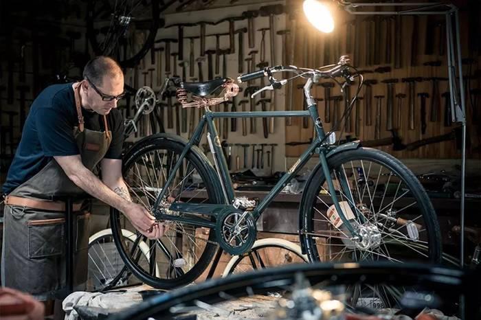 真正的绅士都需要一台 Pashley 复古自行车