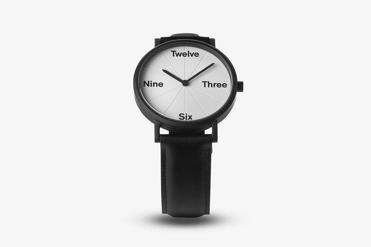 这组极简风腕表想要以自己的方式诠释时间语言
