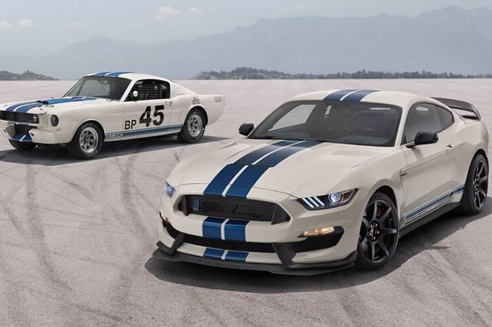 福特发布全新2020 Shelby GT350,致敬传奇还原复古赛车外形