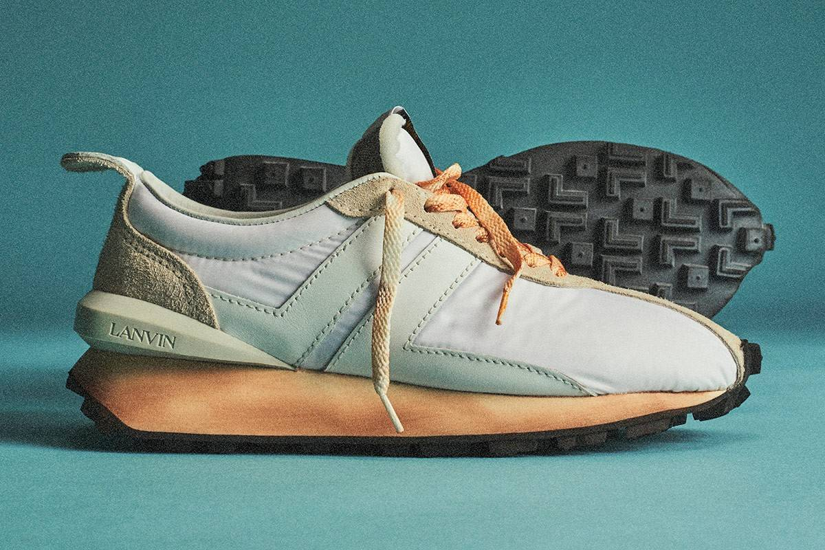 Lanvin Bumper Sneaker:源自1970年代的纯粹复古风