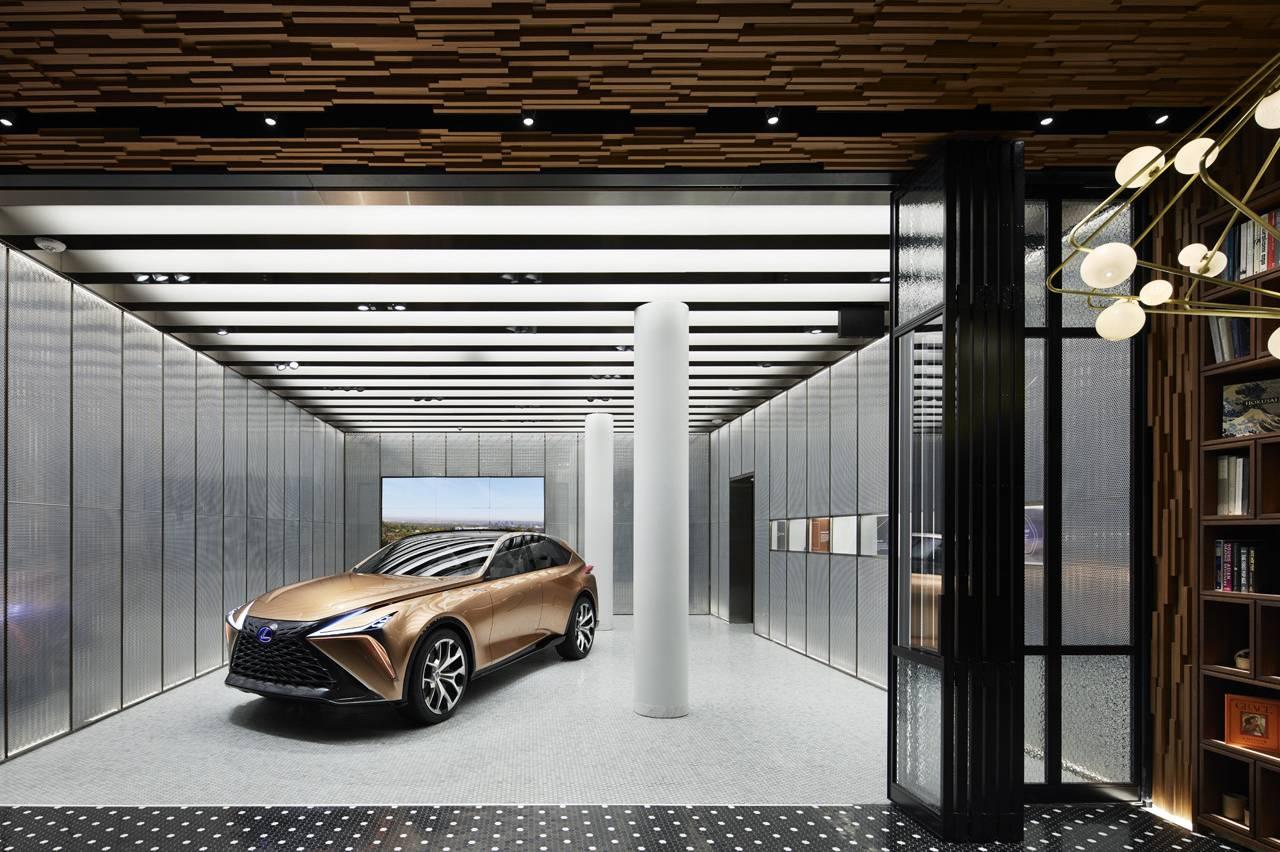 看完LEXUS体验店,我大概明白了什么叫奢华的空间设计