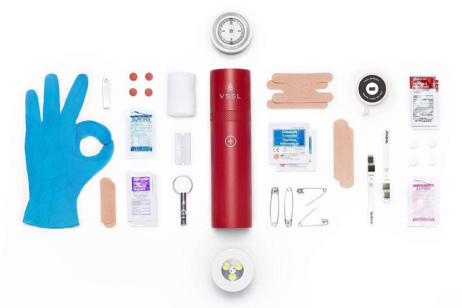 VSSL First Aid Kit:为野外探险而打造的急救包,只为护你周全