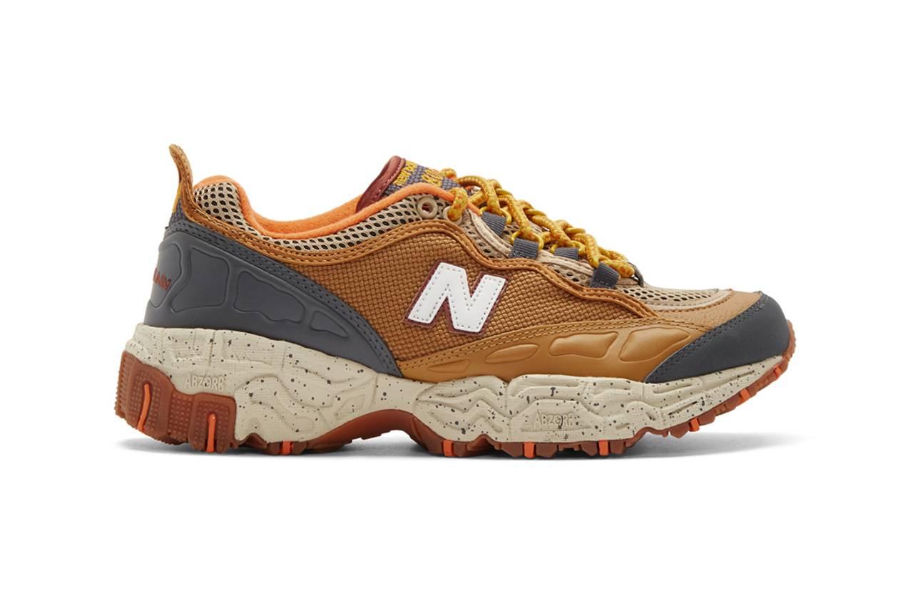 以大地色呈现豪华质感,New Balance释放全新ML801NEC Trail Runner