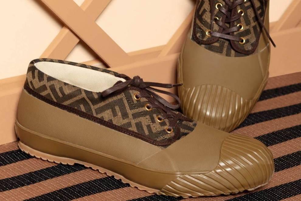 围绕清新天然的户外园艺主题,FENDI x MOONSTAR发布合作球鞋系列