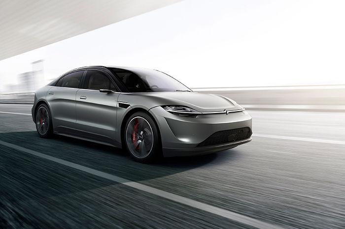 SONY发布首款概念电动汽车VISION S,伴随智慧科技强势来袭