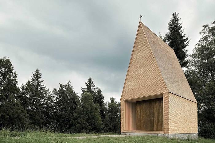 Salgenreute教堂:两百年前的礼拜圣地 如今的风格避难所