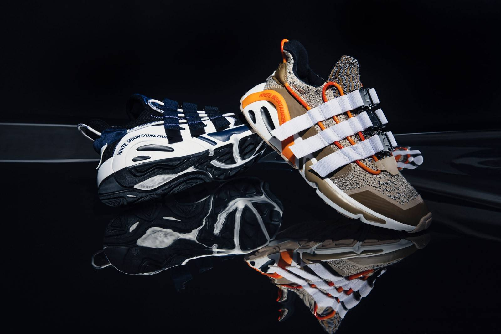 注入白山的独特美学理念,adidas Originals x White Mountaineering联名LXCON