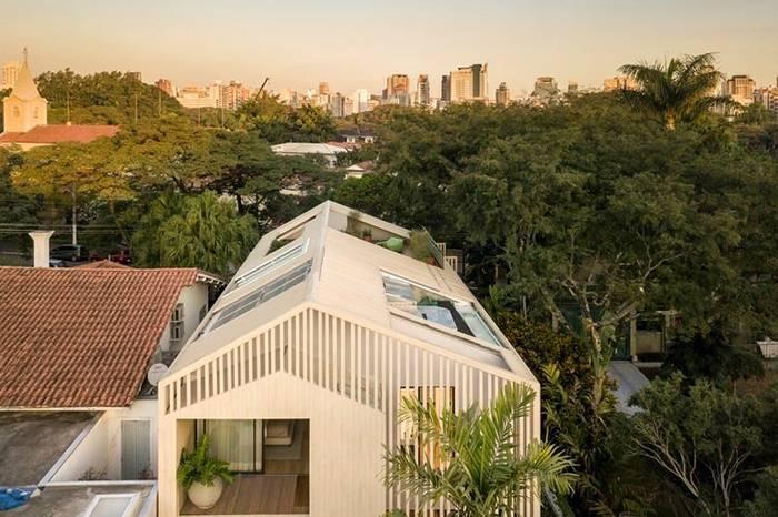 清新的乡下宅子造起泳池,屋顶露台让人心动!
