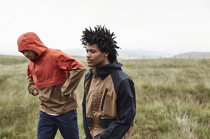 The North Face2020首度联名与Millerain合作推出两款经典风衣夹克