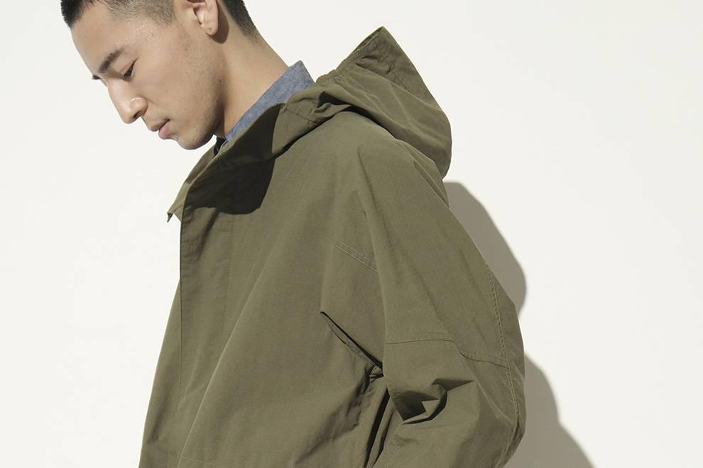 兼具设计感的高性能着装,GOLDWIN亮相春夏全新外套阵容
