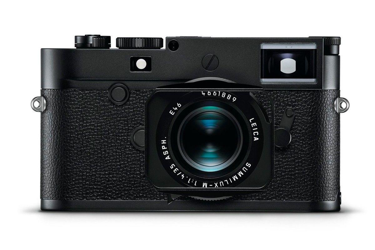 徕卡发布首款4000万像素M相机:M10 Monochrom