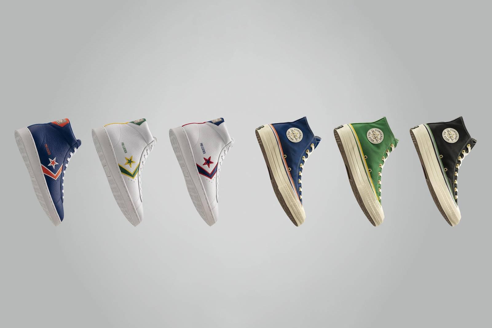 致敬打破肤色藩篱的NBA先驱,Converse推出全新球鞋系列