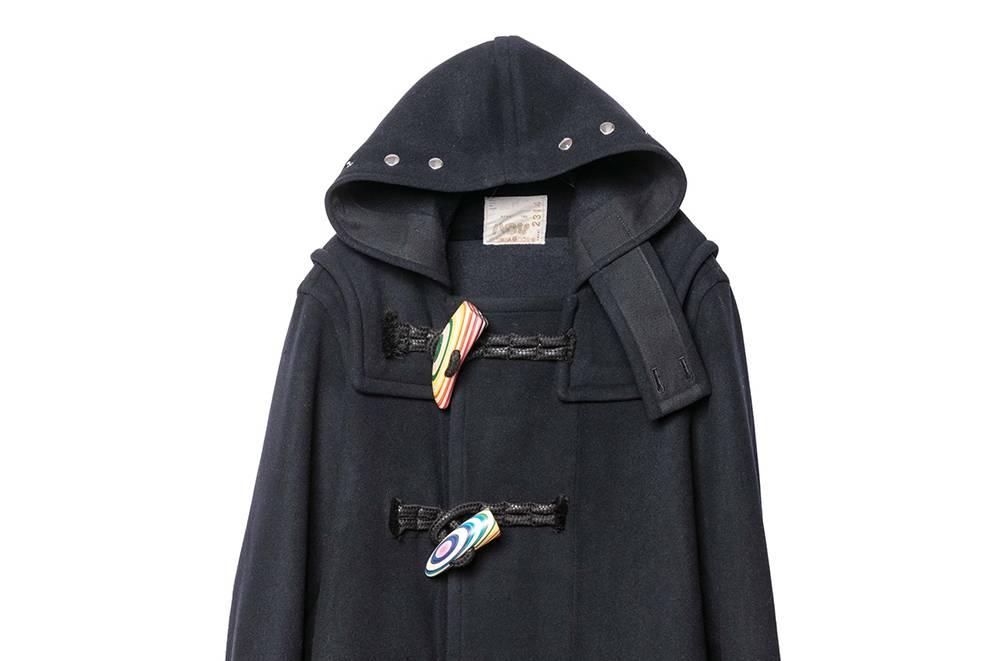 满载吸睛细节,sacai x Haroshi将在2G Tokyo发售联名大衣