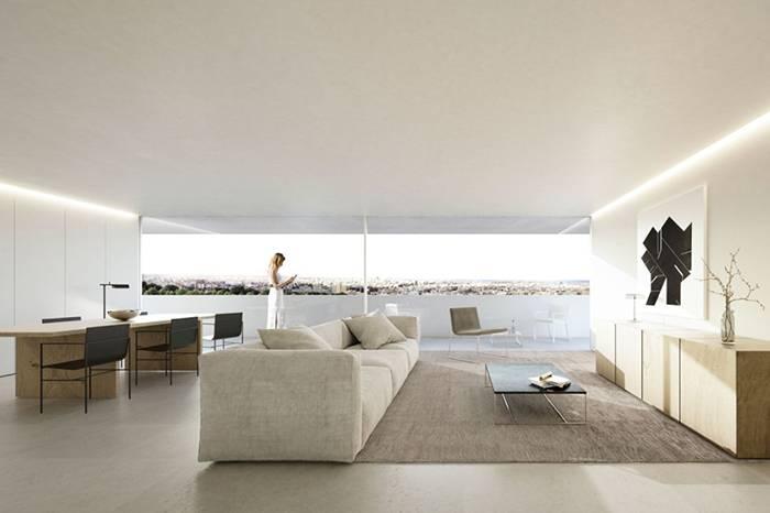西班牙设计工作室 极简设计还原空间的真实面貌
