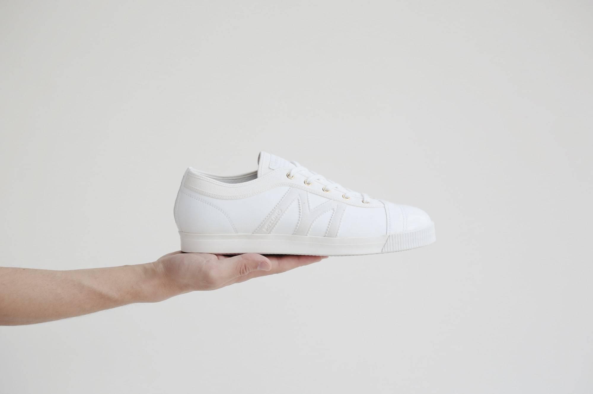 精致纤巧小白鞋,MIZUNO x mercibeaucoup,全新联名系列