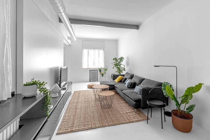 94㎡ 老房改造 综合极简与工业风的创意设计
