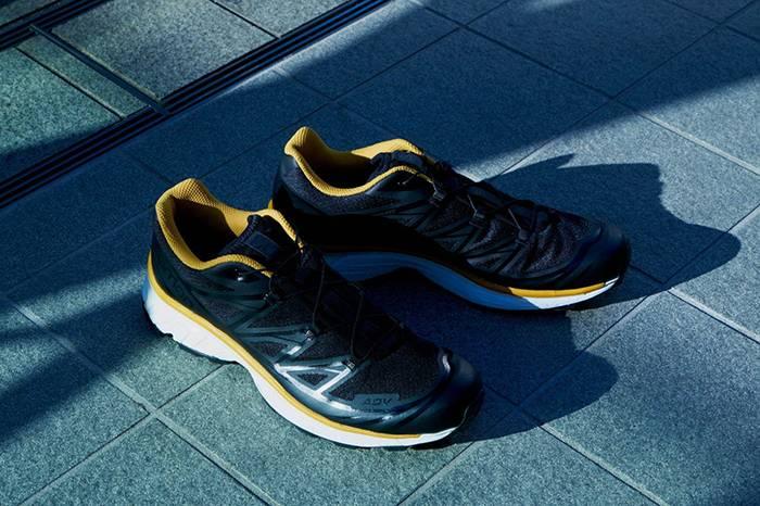 都会山系风,FUMITO GANRYU x SALOMON推出合作款越野跑鞋