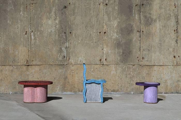 这位韩国设计师用「纸」制作家具,灵感取自无家可归的流浪汉。。。